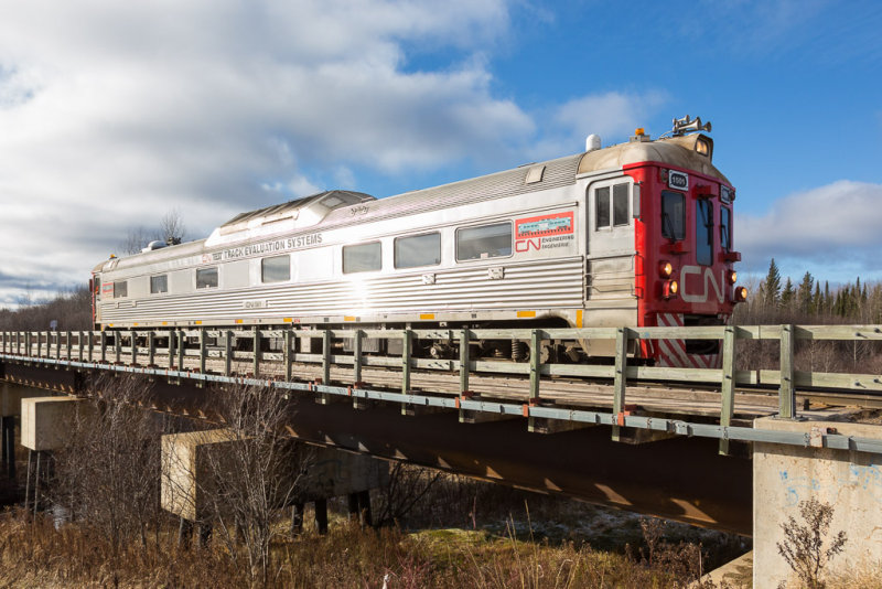 CN 1501 on Store Creek bridge