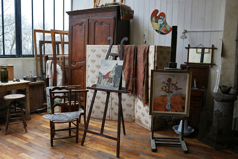 122 Exposition Valladon Utrillo Utter au musee de Montmartre - IMG_2356_DxO Pbase.jpg