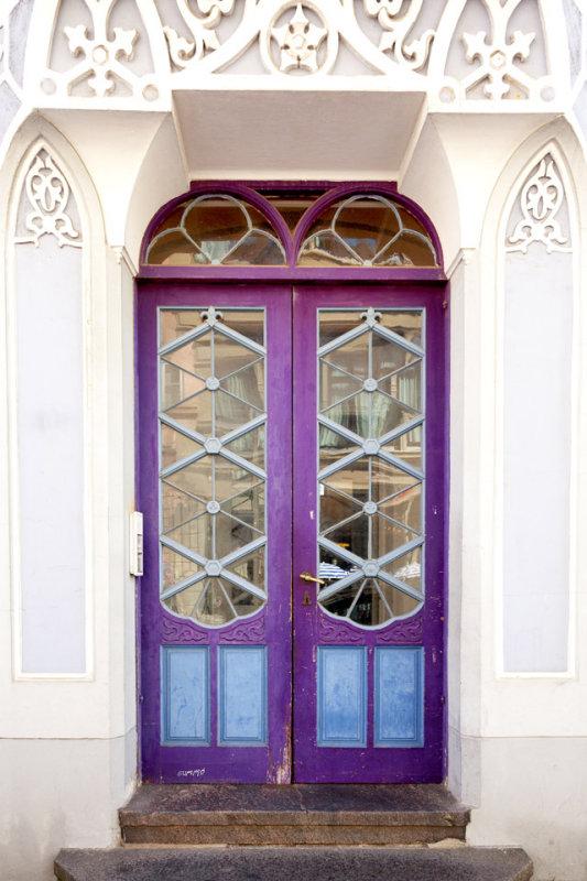 Purple door by Gummo