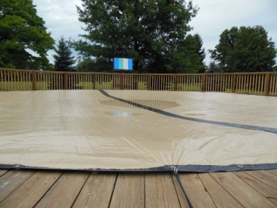 Closing Above Ground Pool Without The Winter Cover