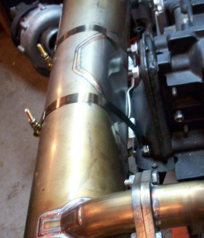 Porsche 911 Engine Test Stand: HELP! M&K Muffler Mounting Issues On A 3.2