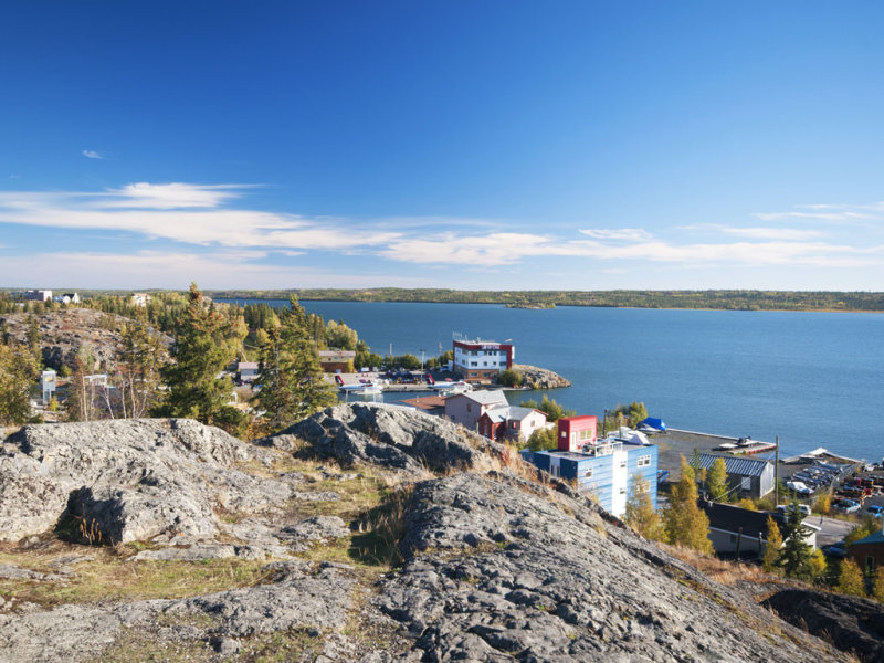 View of the Bay at Yellowknife