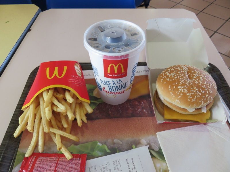 Saint-Denis Reunion le big mac