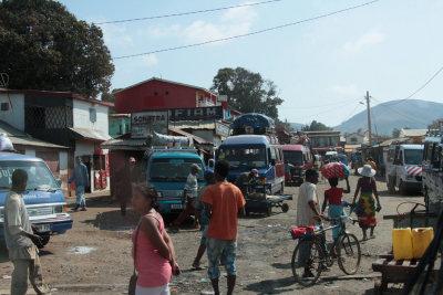 Small town market between Isalo and Fianarantsoa