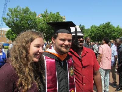 Finally a grad