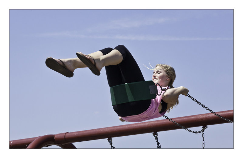 Swinging high