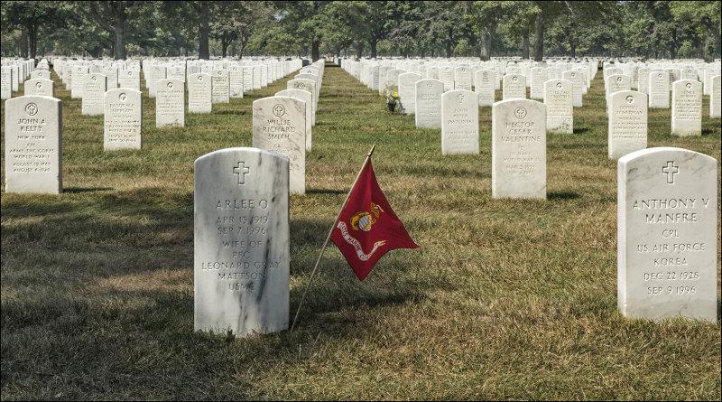 Memorial to a Marine