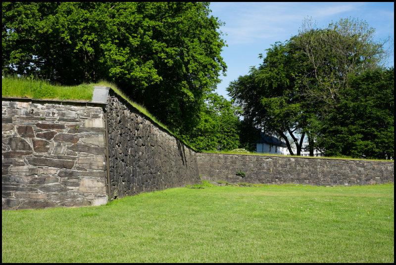 Bergenhus Fortress Walls