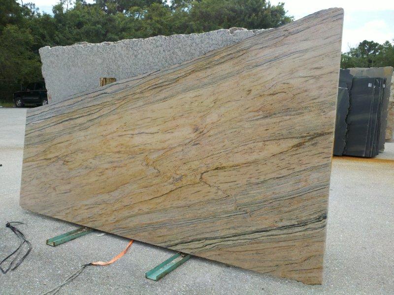 The granite slab