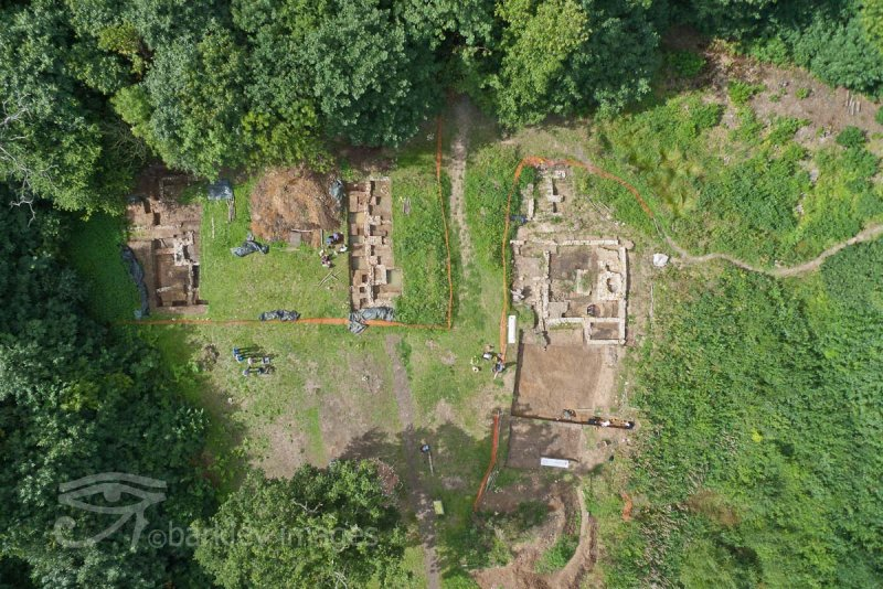 Shorne Woods Manor House Dig