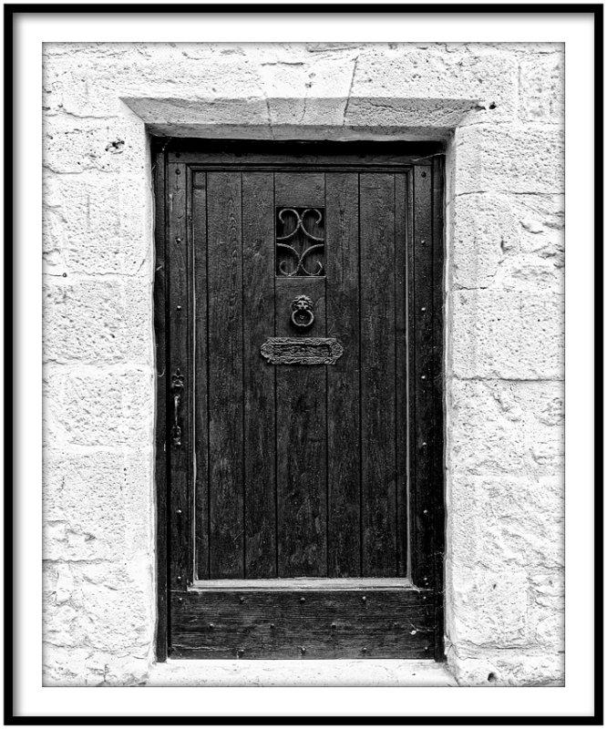 La porte des seuils....