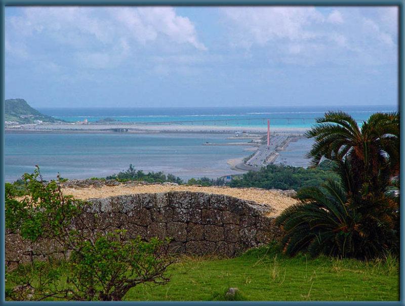 View looking east from Katsuren-jô (Katsuren Castle)