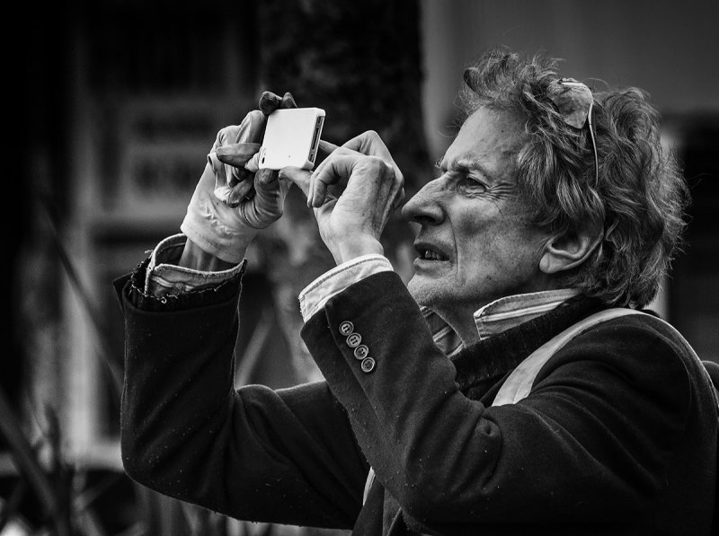 The photographer - BNW