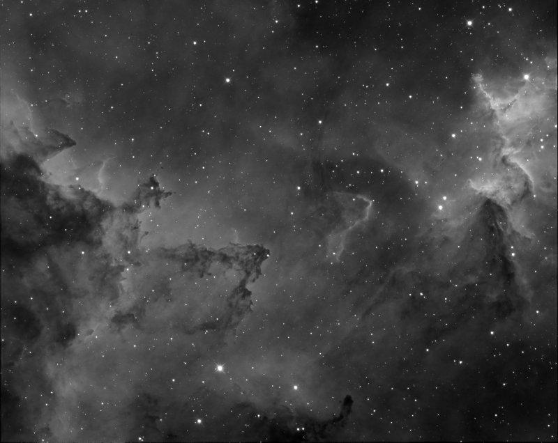 IC 1805, Heart nebula, le coeur du coeur, full
