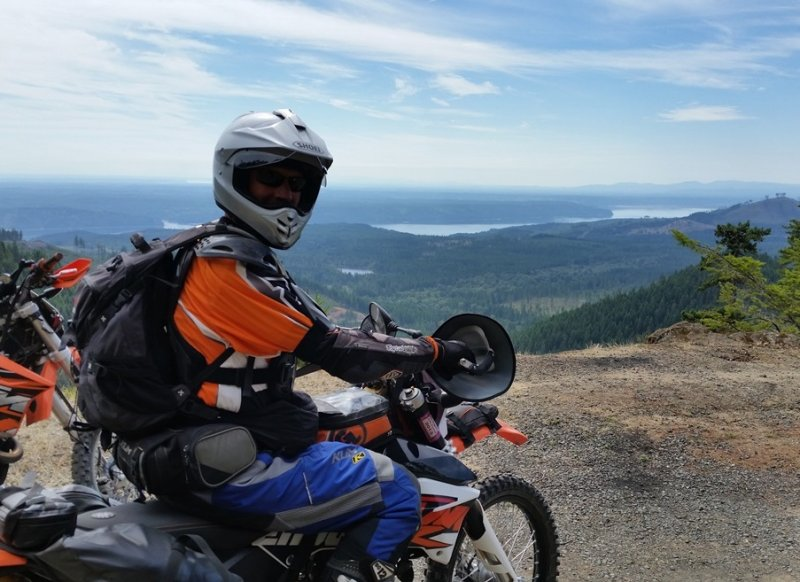 Olympic Peninsula Adventure Ride- Sunny Hood Canal Side, a Dusty Day 1