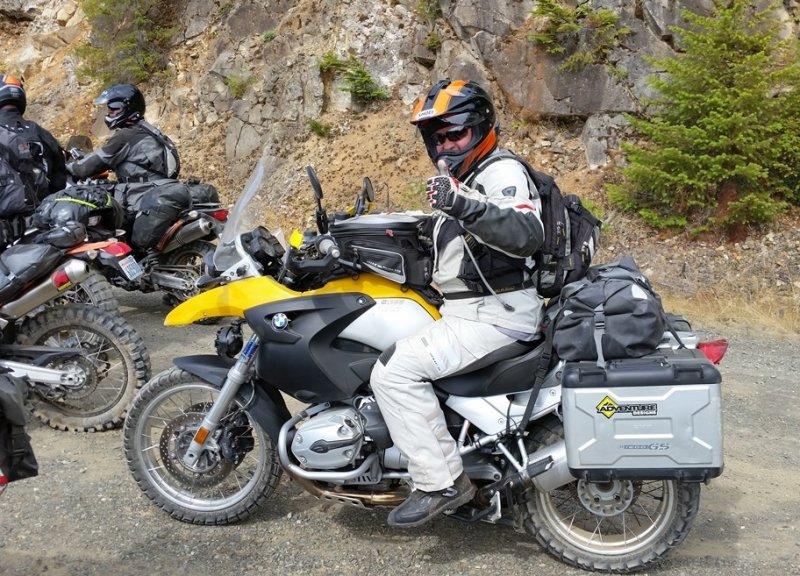 Olympic Peninsula Adventure Ride- Sunny Hood Canal Side