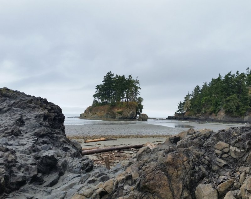 Olympic Peninsula Adventure Ride- North Side, Crescent Beach, Day 2