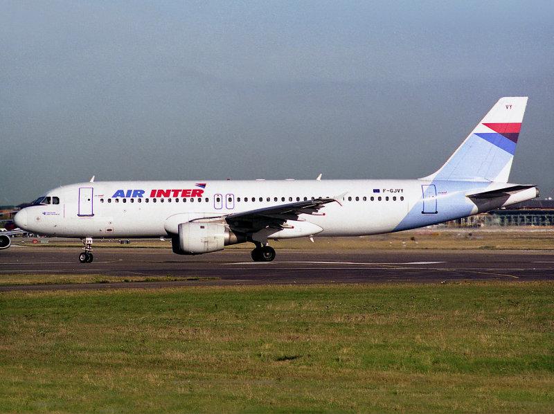 A320  F-GJVY