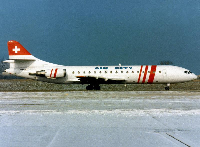 SE-210  HB-ICJ