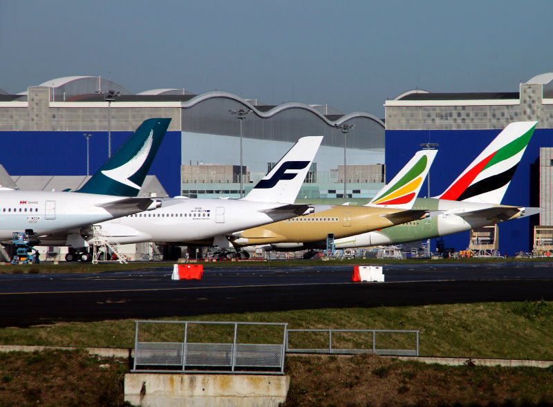A350 fins