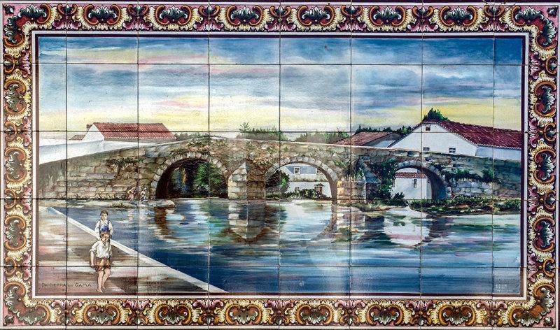 A Ponte em Azulejos