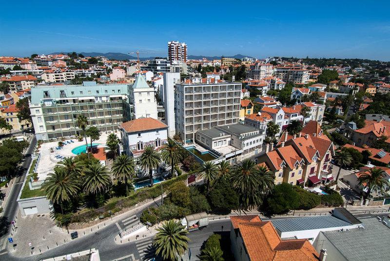 As Avenidas Sabóia e das Acácias, no Monte Estoril