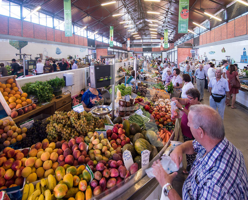 O Mercado de Olhão