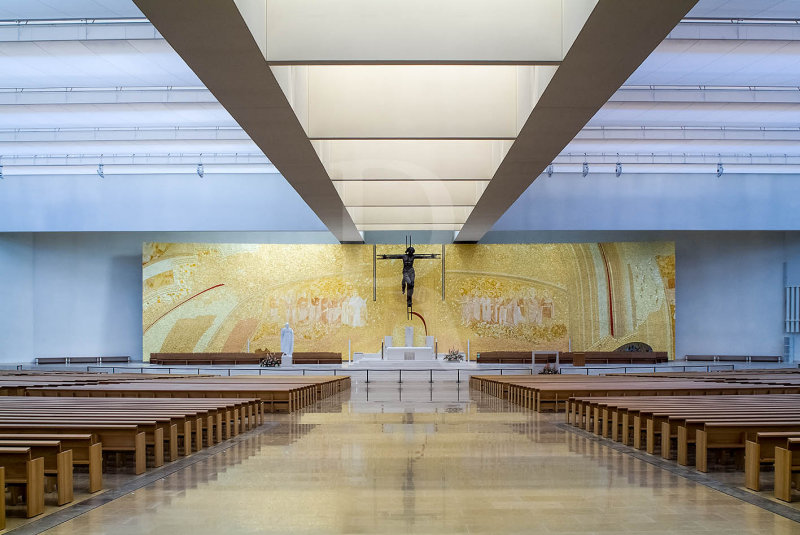 O Altar da Igreja da Santíssima Trindade