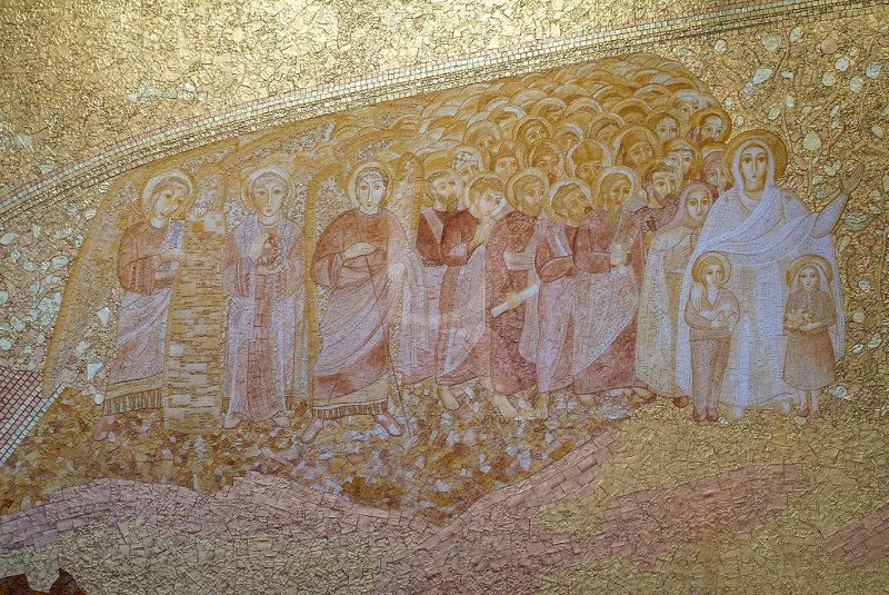 The Presbyterys Wall, by Marko Ivan Rupnik