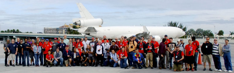 January 2015 - the 23rd annual Miami International Airport ramp tour for aviation photographers