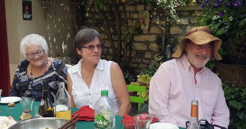 Raymonde, Nadine et Yves