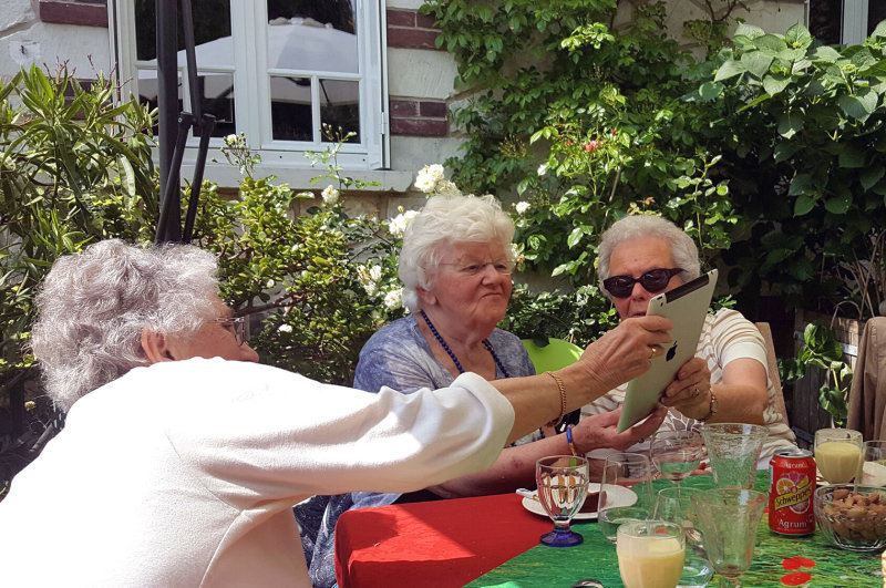 Nicolle, Lise et Angèle