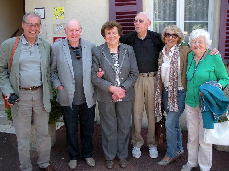 JM, Jean, Yvette, Albert, Suzanne, Lise
