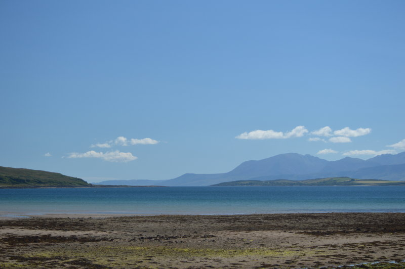 Looking Out From Ettrick Bay
