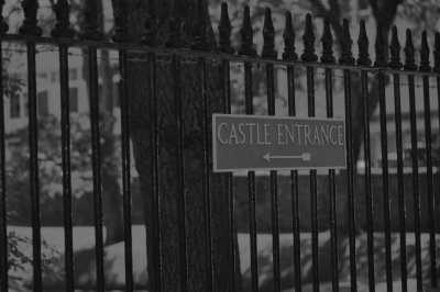 Castle Entrance This Way