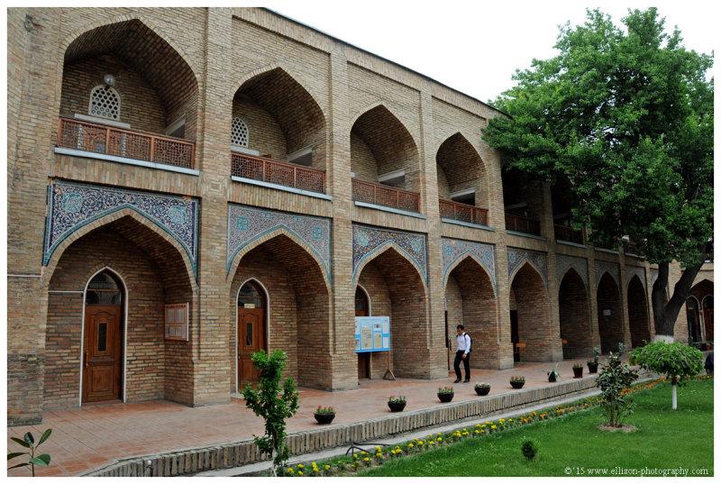 Kukeldash Madrasah inner courtyard