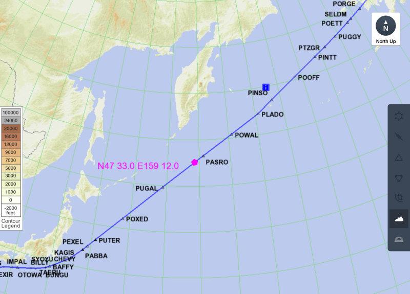 Location of observation/possible eruption