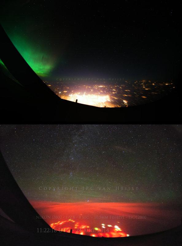 Comparison - Winnipeg and Pacific Lights