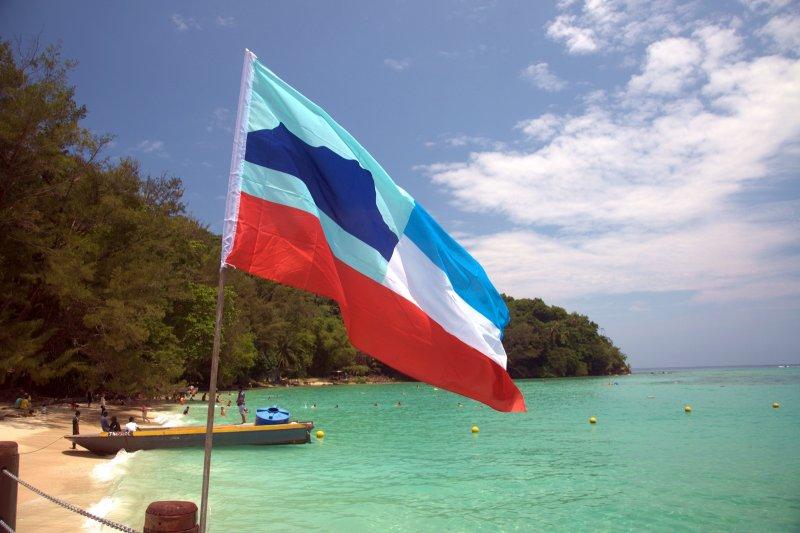 Sabah flag...