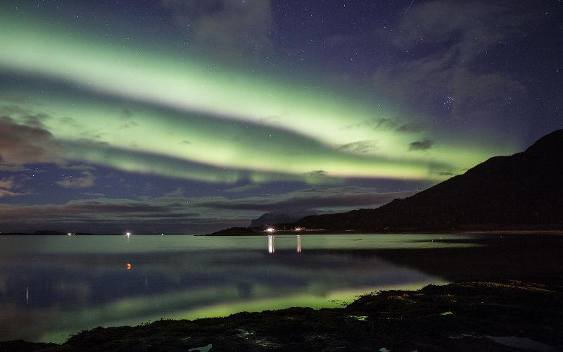 Noorderlicht; Northern light; Lofoten
