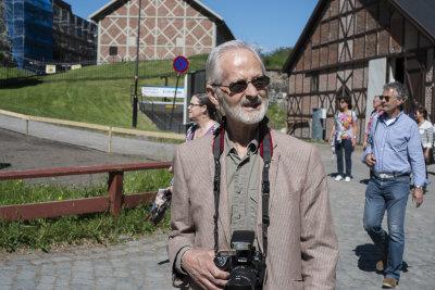 Rusletur på Akershus Festning med min far