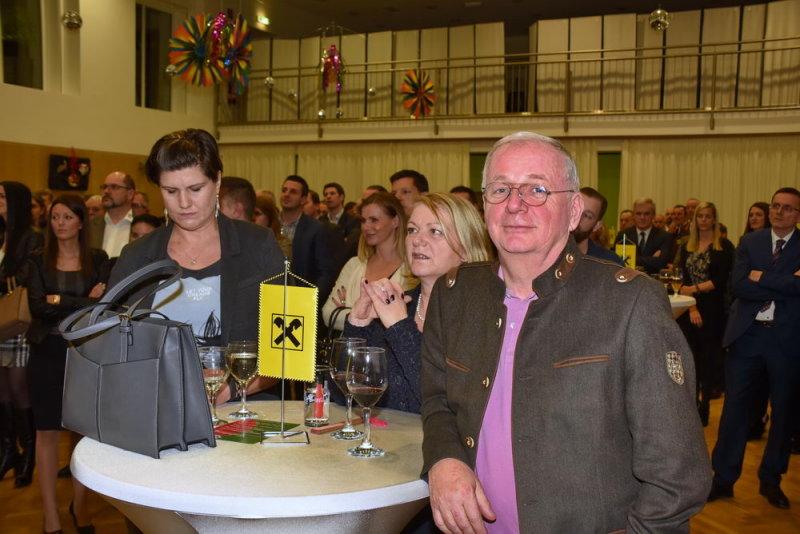 Halina Sommer mit Heidi und Ing. Rudolf Lamberg