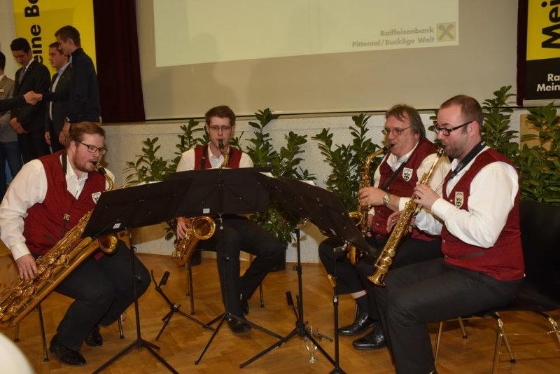 Jugendblasmusik - Saxophonquartett!