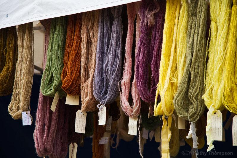 Homespun wool