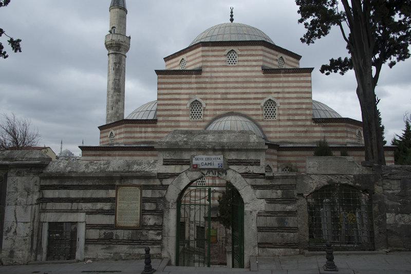 Istanbul Shey Ebul Vefa mosque december 2015 6306.jpg