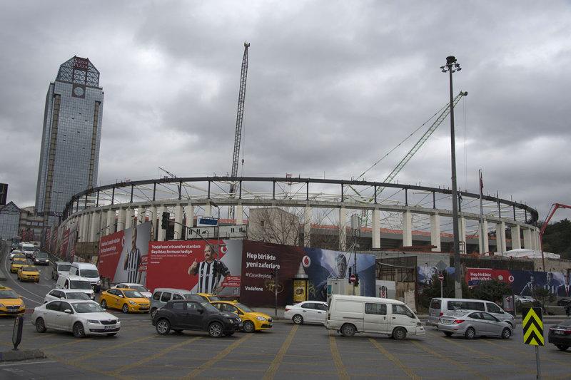Istanbul Besiktas Stadium under construction december 2015 5916.jpg