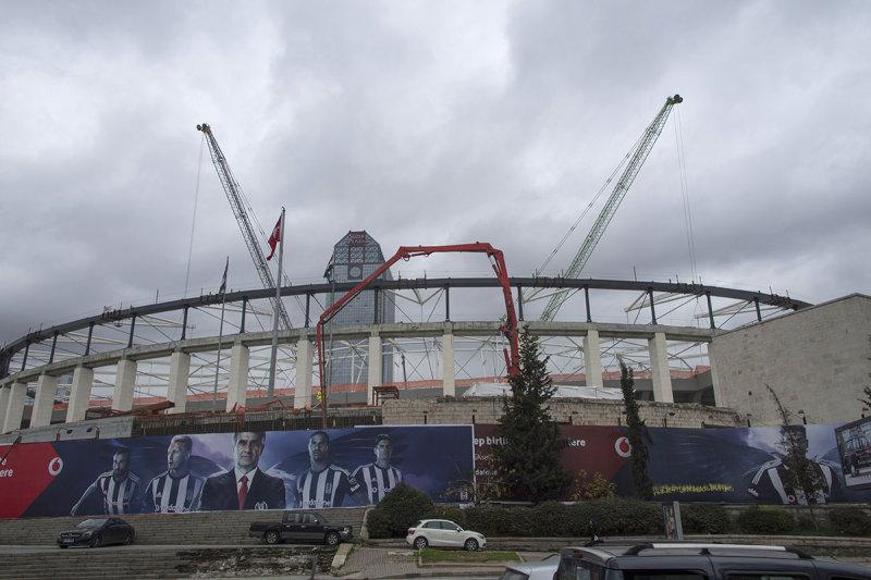 Istanbul Besiktas Stadium under construction december 2015 5922.jpg