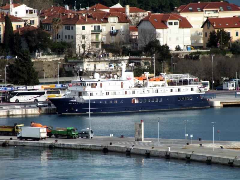 Our ship the Athena - 46 passengers, 21 crew