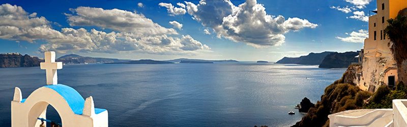 Caldera Panorama - Created from Eight Seperate Images