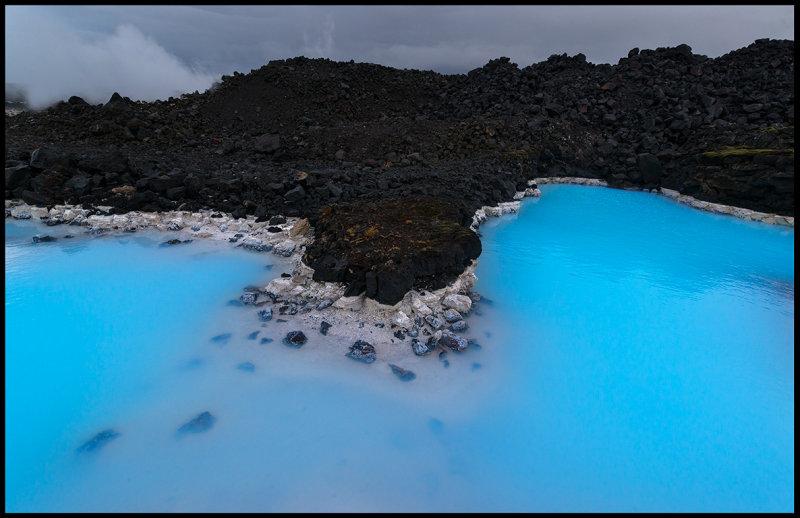 Blue lagoon near Keflavik